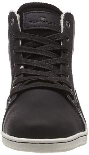black Uomo A 00001 Alto Schwarz Tailor Collo Tom Sneaker 585100230 pAYfq8