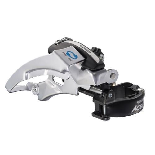 Shimano FD M360 Acera Triple Front Derailleur 31.8mm TP TS HDC Silver