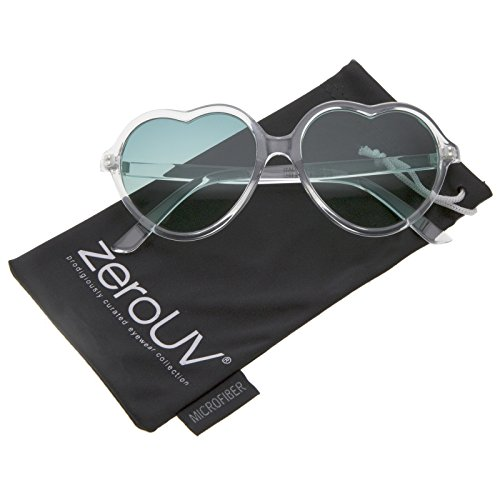 zerouv-womens-translucent-frame-gradient-color-lens-heart-sunglasses-56mm-clear-green