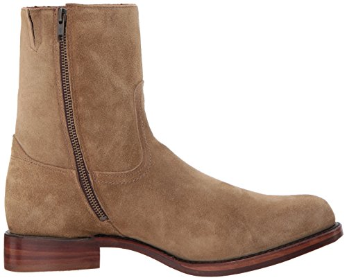 FRYE Mens Campus Inside Zip Mid Calf Boot Sand hHM1TMf6W
