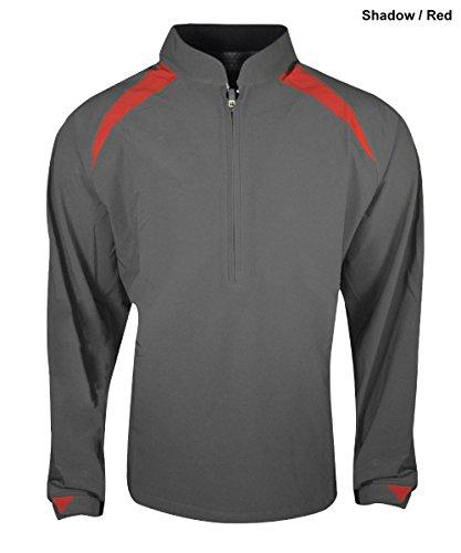 Sun Mountain Golf- 2015 Torrent Jacket Shadow/Red Medium ()