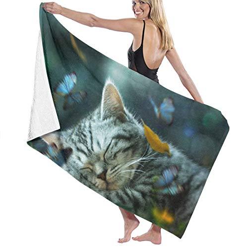 Cat Nap Daydream Bath Towel 80