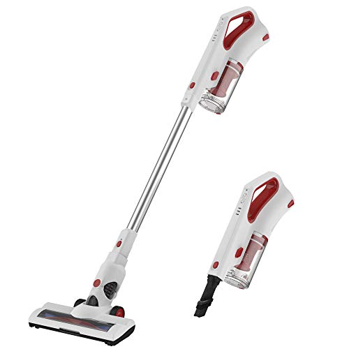 AUCMA Vacuum Cleaner Portable Lightweight Cordless Stick Handheld Lithium-ion Rechargeable Vacuum Cleaner with HEPA…