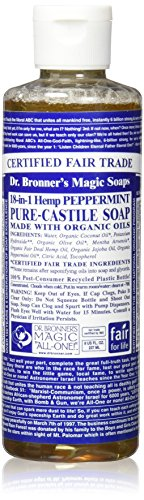 Dr Bronners Liquid Soap Peppermint product image
