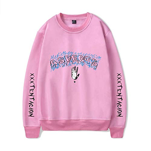 Sweatshirt Pullover Maglione Stampa Casual Collo Sportive Xxxtentacion Rotondo Uomo Yamyamdan Personalizzate Pink5 Popolare xnRqYPXwX