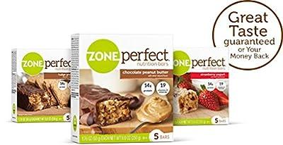 ZonePerfect Nutrition Bars, Chocolate Almond Raisin
