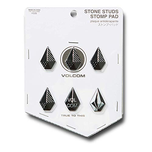 (Volcom Women's Stone Studs Pack of 6 Snow Stomp Pads)