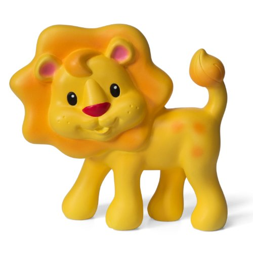 Lion Baby Toy - Infantino Squeeze and Teethe, Lion