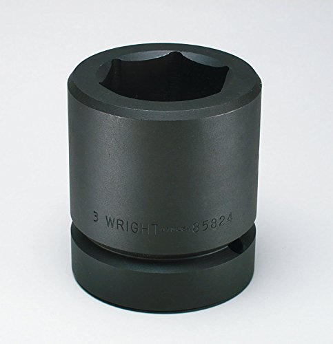 (Wright Tool 85832 4-Inch 6 Point Standard Impact Socket with 2-1/2-Inch Drive)