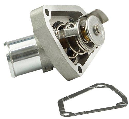 TOPAZ 21200-4W01B Thermostat & Gasket Housing for Nissan 350Z Pathfinder Infiniti G35 QX4 3.5L