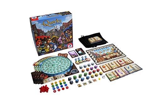 Schmidt Spiele CSG Quacks of Quedlinburg Game Family, Multicolour