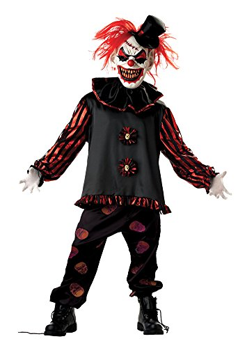 Carver The Clown Child Costume Lg Kids Boys Costume -