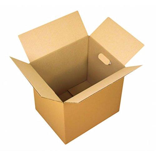 Carton déménagement livre poignées