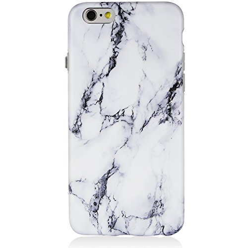 Blue Opal Granite (iPhone 6 Case,iPhone 6s Case,Marble iPhone 6 Case Black and White,DICHEER Soft Case for iPhone 6 / 6S,Anti-scratch Soft Case Cover,IMD TPU Case for iPhone 6/6s 4.7'' only - 20)