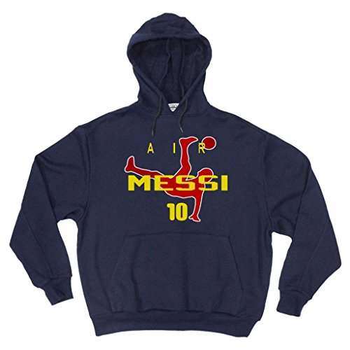 Lionel Messi FC Barcelona Air Messi Hooded Sweatshirt YOUTH XL