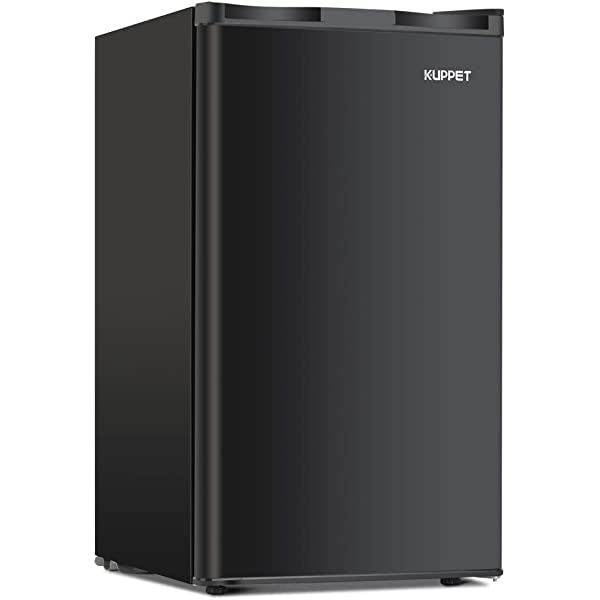 compact fridge with separate freezer