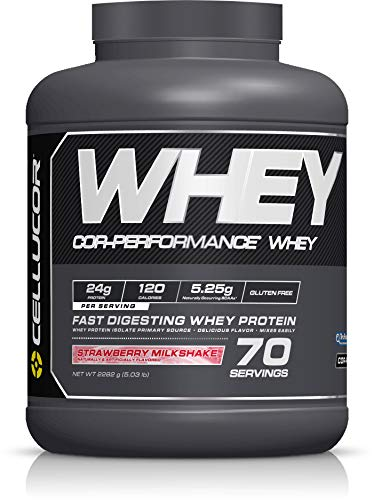 (Cellucor Co-Performance Protein Powder with Whey Isolate, Strawberry, 5 Pound)