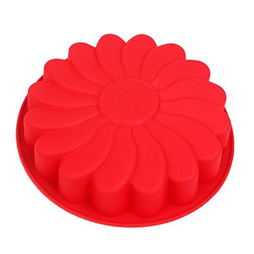 TTLIFE Big Silicone cake baking mold single sunflower shaped DIY silicone Cake mold FDA quality