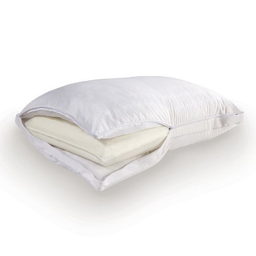 Sealy Bed Pillows - Sealy Posturepedic Comfort Cover & Memory Core Bed Pillow