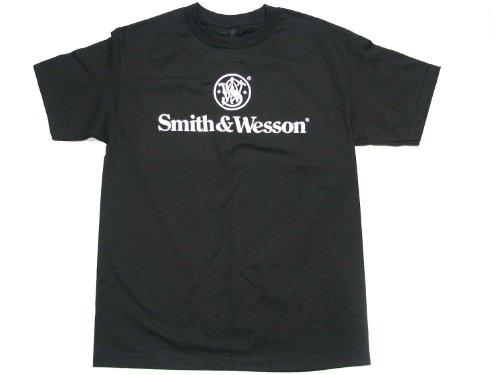 Smith & Wesson Men's Logo Tee-XX-Large-Black ()