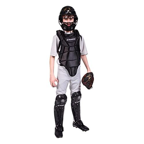 Image of Champro Hel-Max Ages 9-12 Youth Baseball/Softball Catcher's Set