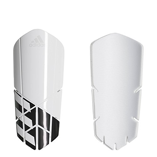 adidas Performance X Lesto Shin Guards, White/Black, Large