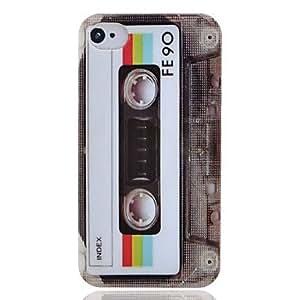 Caso duro del patrón cinta fresca para iPhone4/4S