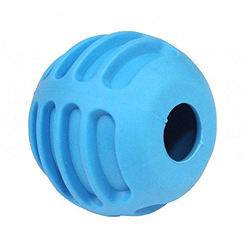 pet nova TPR pelota de goma con cascabeles para perros, Azul – 6 ...