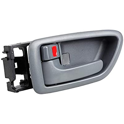 AUTEX Gray Interior Front/Rear Left Door Handle Driver LH Side Compatible with Toyota Sequoia 2001-2007 Replacement for Toyota Tundra 2004-2006 81259 TO1352156 TO-1352156 692060C030B1: Automotive