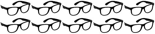 2 Set of 10 Amscan Classic 50s Cat Eye Glasses bundled by Maven Gifts