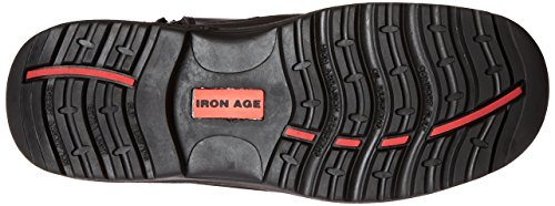 Iron Age Mens Ia6880 Reliable Industrial & Construction Shoe Black 147n5tb