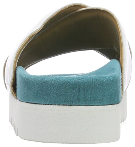 Mules Mujer Berlin Liebeskind Lf182930 white Para Multicolor Goat HwtRwXx