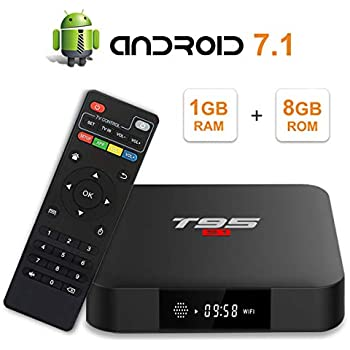 Amazon com: TUREWELL Android 7 1 TV Box, T95 S2 Android Box