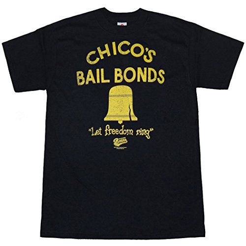 Animation Shops Bad News Bears Chico's Bail Bonds T-Shirt-Medium Bail Bonds