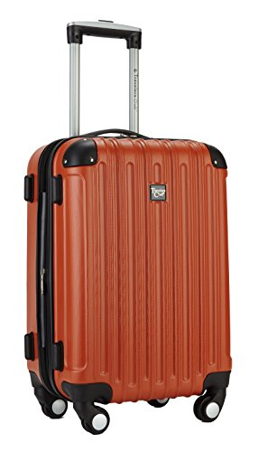 Travelers Club 20 Cup and Phone Holder Expandable Spinner Carry-On Luggage