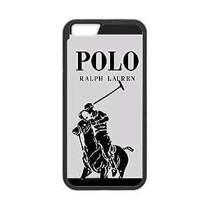iPhone 6 4.7 Inch Phone Case Black Polo Ralph Lauren Logo AC8627916