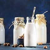 12 oz Glass Bottles, Glass Milk Bottles with