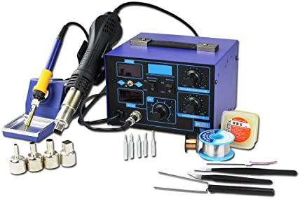 BACOENG 2in1 SMD Soldering Station 862D Improved Version of 852 and 862