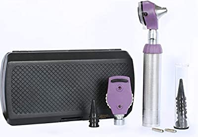ZetaLife Multi-Function Otoscope Student Set with Disposable Speculum (Purple)