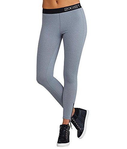 2(x)ist Solid Performance Leggings, XL, Light Heather Grey