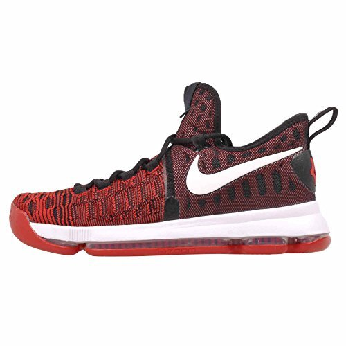 quality design 00524 f88c9 Nike Zoom KD 9 Men s Basketball Shoes University Red White-Black (11 D