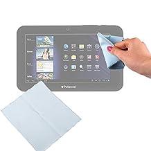 """Chiffon microfibre bleu pour écran de tablettes Polaroid Platinium, Diamond, Infinite & Infinite+ et Pearl 10,1"""", Garantie 2 ans par DURAGADGET"""