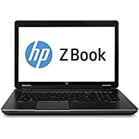 HP Laptop ZBook 17.3 LED Notebook - Intel Core i7 i7-4700MQ 2.40GHz 16G Memory 480G SSD Windows 10 Professional (Certified Refurbished)