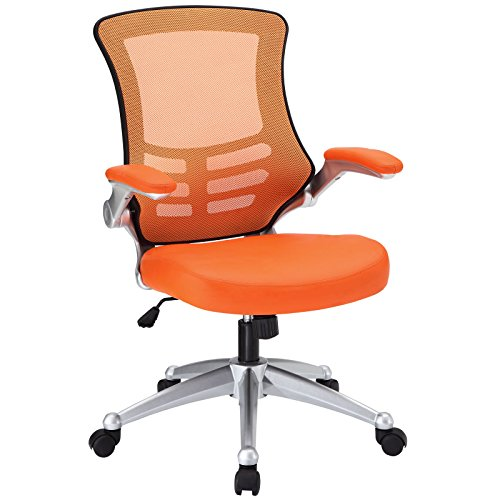 modway-attainment-office-chair-with-orange-mesh-back-and-leatherette-seat-desk-chair-with-flip-up-ar