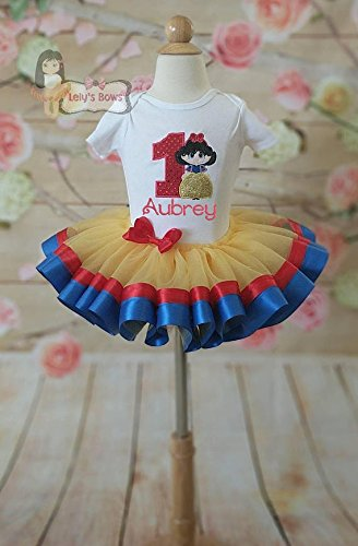5653d39d126 Image Unavailable. Image not available for. Color  Snow White birthday  outfit ...