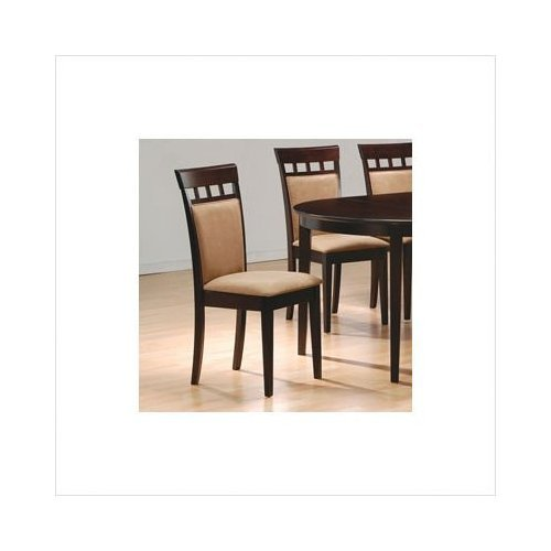 Coaster Cushion Dining Chairs Cappuccino