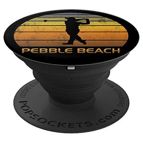 Pebble Beach California Golf Mobile Phone Golfer Fan Cool - PopSockets Grip and Stand for Phones and Tablets ()