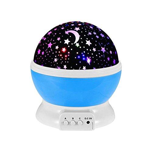 Fozela Constellation Night Light Projector Lamp 360 Degre...