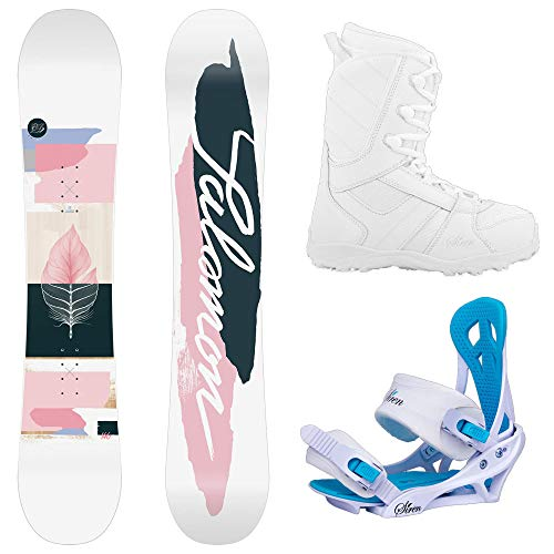 System and Salomon Lotus Women's Complete Snowboard Package 2021