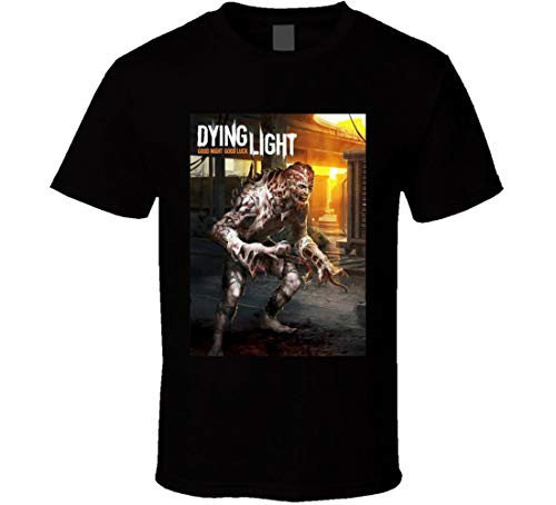 - Dying Light Video Game t-Shirt Zombie Gamer You be The Zombie Xbox PSP Black